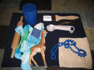 Items in the Treasure Basket