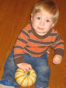 Joey & the Tiger Pumpkin