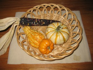 Montessori Fall Activities - Fall Treasure Basket for Babies & Toddlers