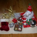 Thumbnail image for Montessori Christmas: Christmas Treasure Basket & Weaving Ribbons {day 3}