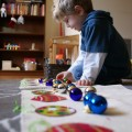 Montessori Christmas Counting