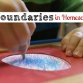 Boundaries in Homeschooling