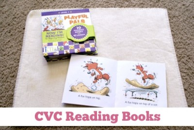 CVC Reading Books