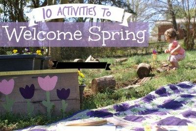 10 Activities to Welcome Spring from Our Montessori Home