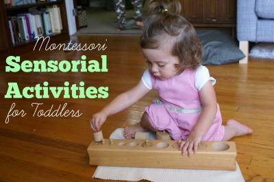 Montessori Sensorial Activities for Toddlers