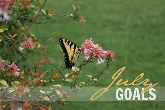 July Goals 2014