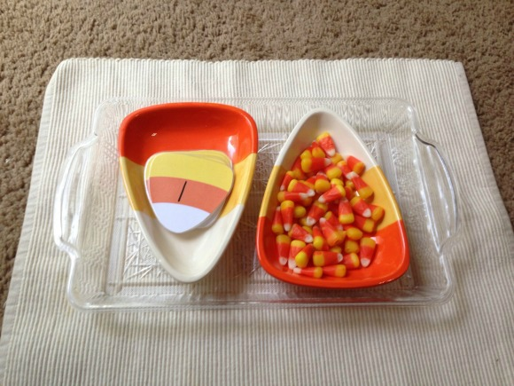 Montessori Halloween Activities - Candy Corn Counting