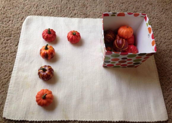 Montessori Halloween Activities - Matching Pumpkins