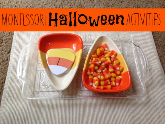 Montessori Halloween Activities