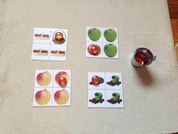 Montessori Apple Themed Activities - Which is Different?