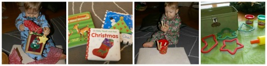 12 Days of Montessori Christmas - Infant Toddler Activities - Day 5-8