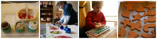 12 Days of Montessori Christmas - Preschool Activities - Day 9-12