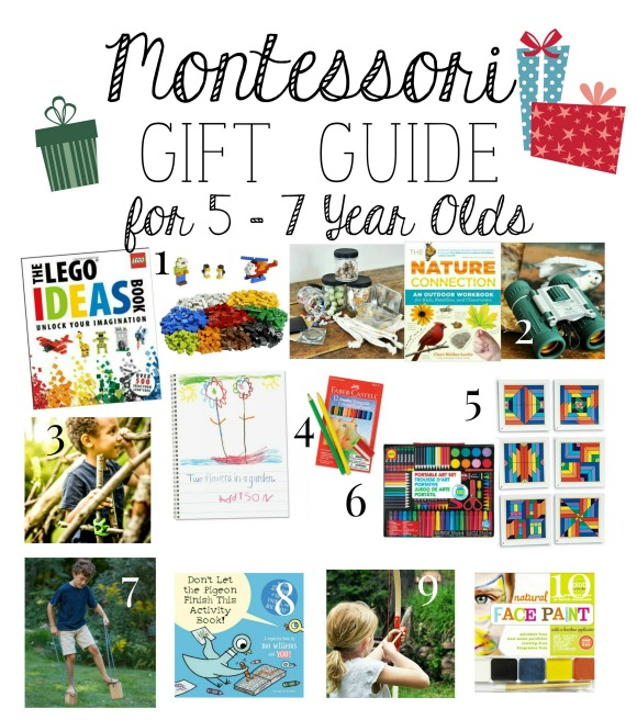 Montessori Gift Guide for 5 – 7 Year Old\'s