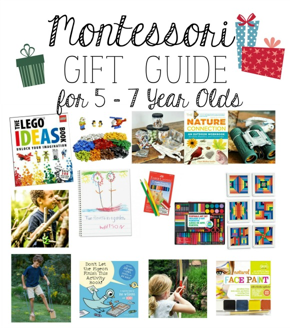 5 Year Old Christmas Gifts: Montessori Christmas Gift Guide