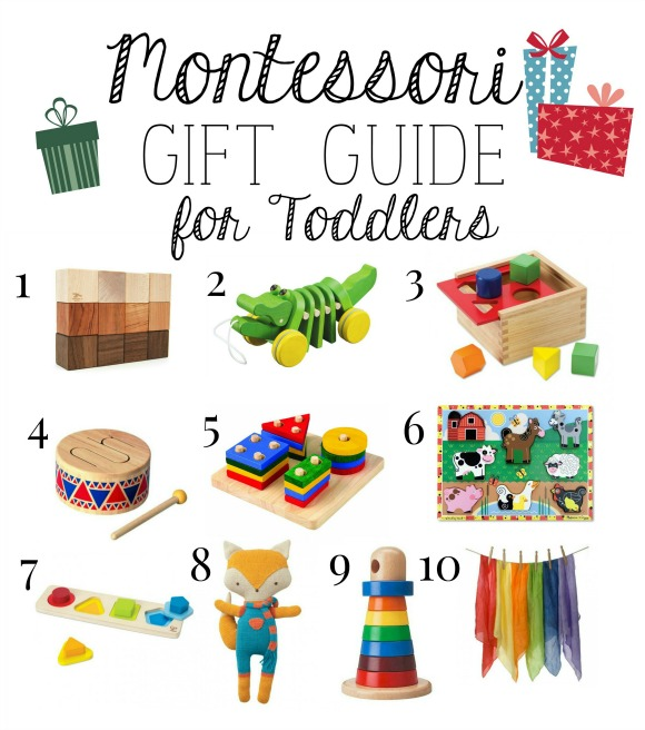 Montessori Christmas Gift Guide for Toddlers