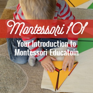 Want to learn more about Montessori? Montessori 101 - Join us for a year-long series looking at Montessori education---from the philosophy of the child to how Montessori influences parenting, the areas of the classroom, and how to incorporate Montessori at home.