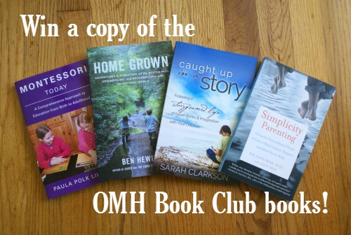 Win a copy of these books! Visit Our Montessori Home for details.