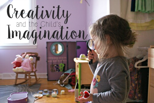 Montessori's Approach to Creativity & the Child's Imagination