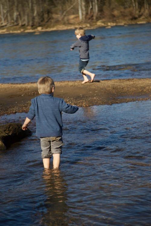 Boys at the River