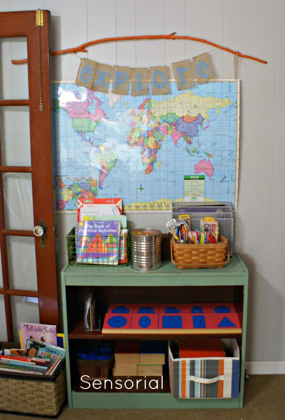 Our Montessori Home School Room Tour