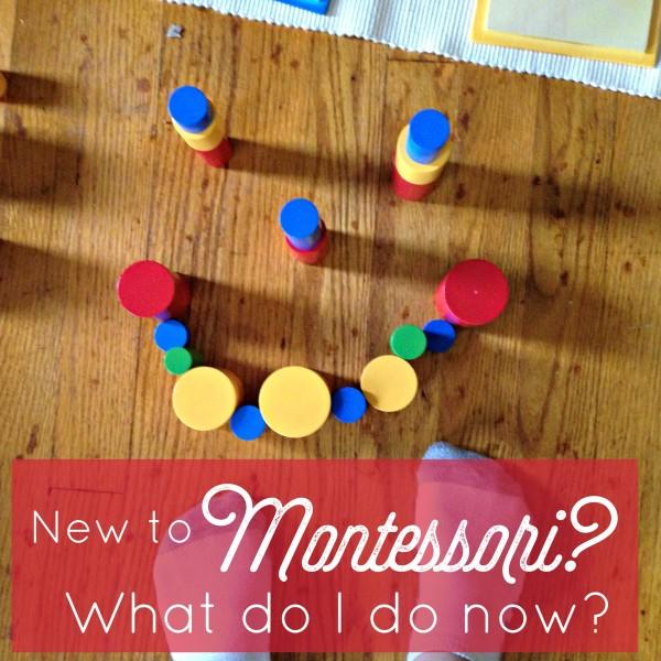 New to Montessori