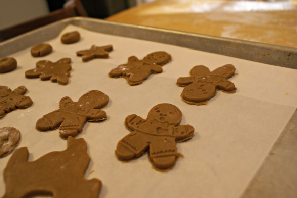 Baking Gingerbread with Jan Brett's Gingerbread Friends