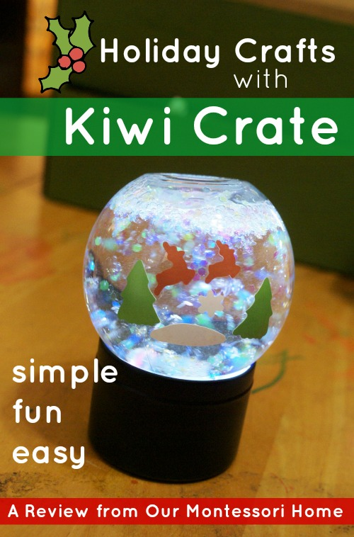 Easy Holiday Crafts with Kiwi Crate