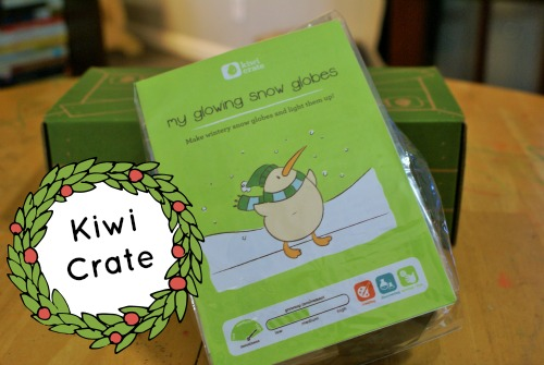 Kiwi Crate Christmas Crafts Review