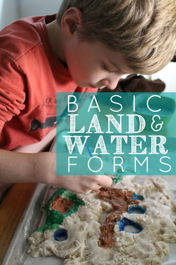 Basic Land & Water Forms