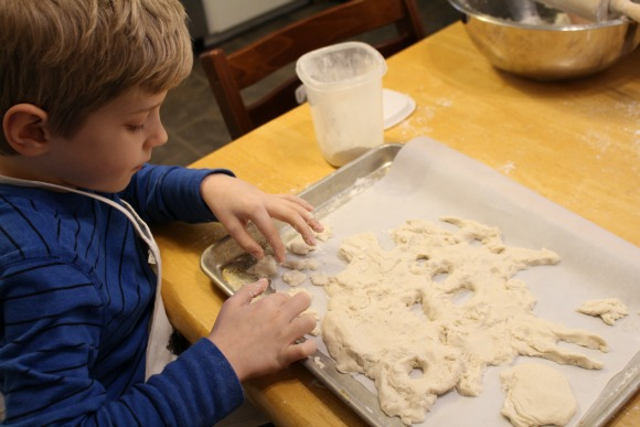 Salt Dough Land & Water Forms