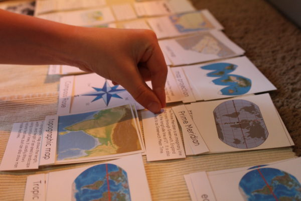 Mapping Skills Cards with Definitions