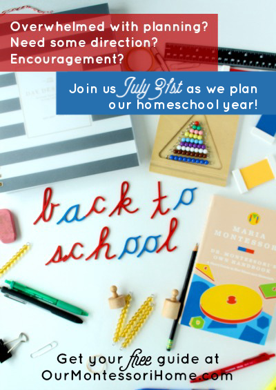 Back To Homeschool Planning Guide Free Printable